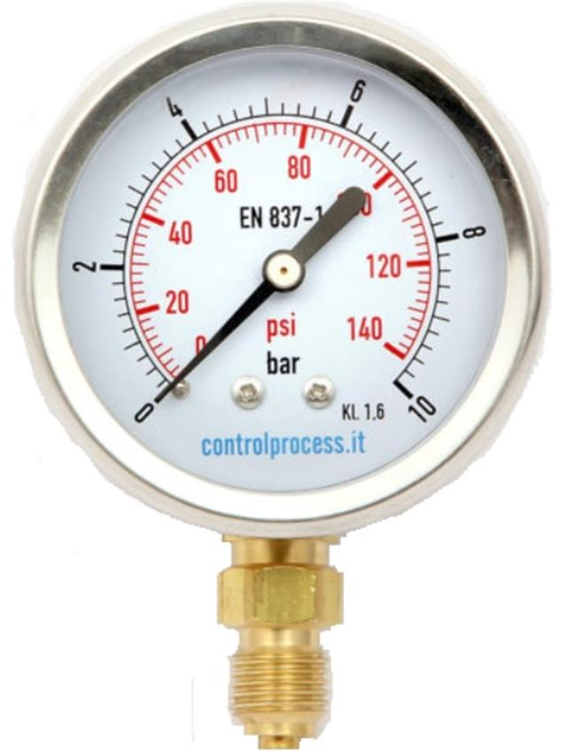 Manometer 0-16 bar 1/4 Dorot